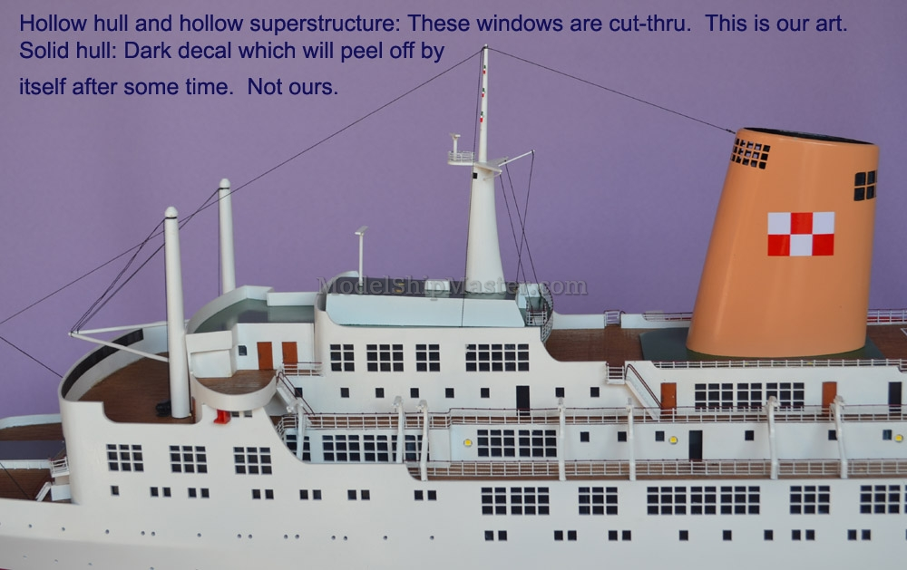 Empress Of Canada Cruise Ship Model